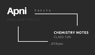 Class 12 CHEMISTRY[UPDATED] Notes By Aman Dhattarwal[PDF]