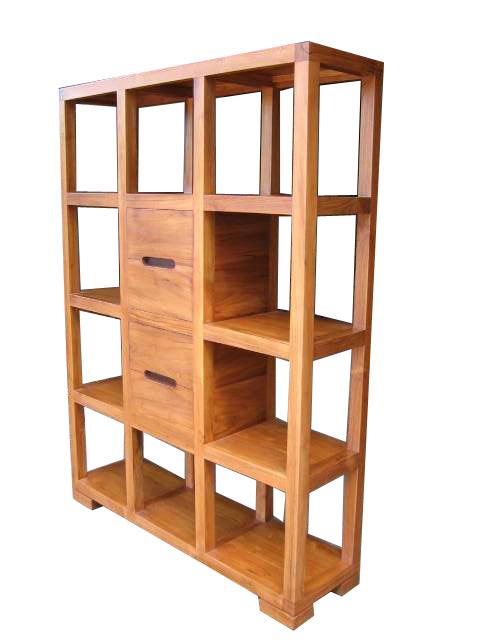 rak buku dari kayu