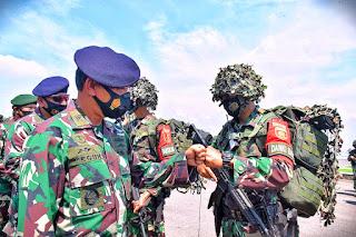 TNI AL Latihan Tempur Kerahkan Belasan Kapal Perang dan 1000 Prajurit