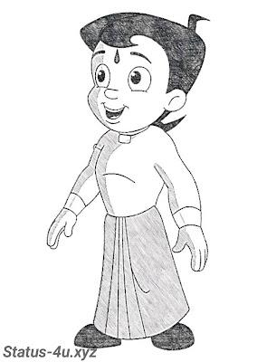 10+ best Chhota bheem drawing images   Chhota bheem sketch