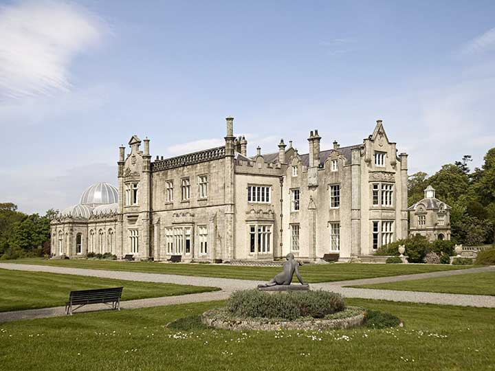 Lord Belmont In Northern Ireland Killruddery House