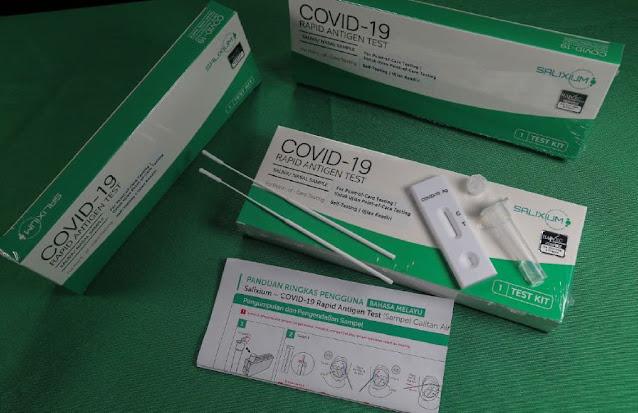 SALIXIUM Covid-19 Rapid Antigen Home Test Kit