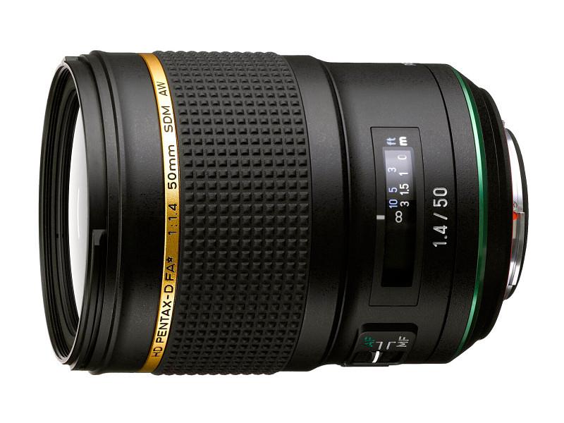 Объектив HD PENTAX-D FA ★ 50mm f/1.4 SDM AW