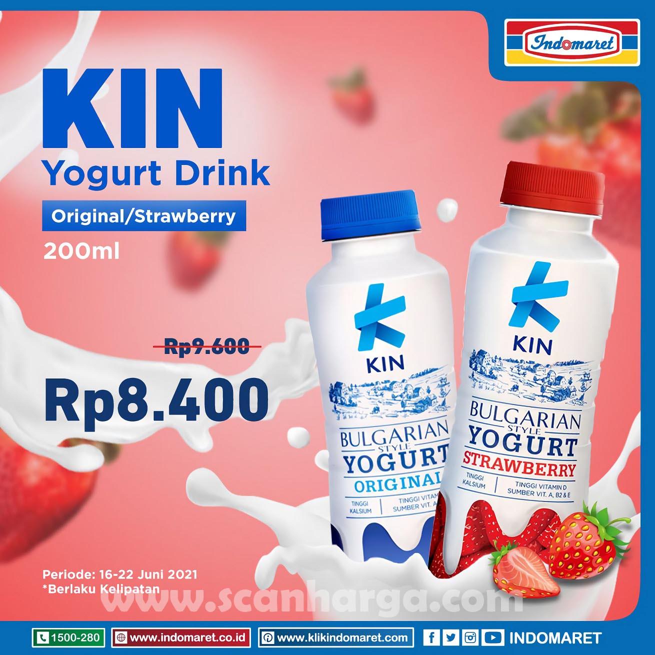 Promo INDOMARET Harga Spesial KIN Yogurt 2