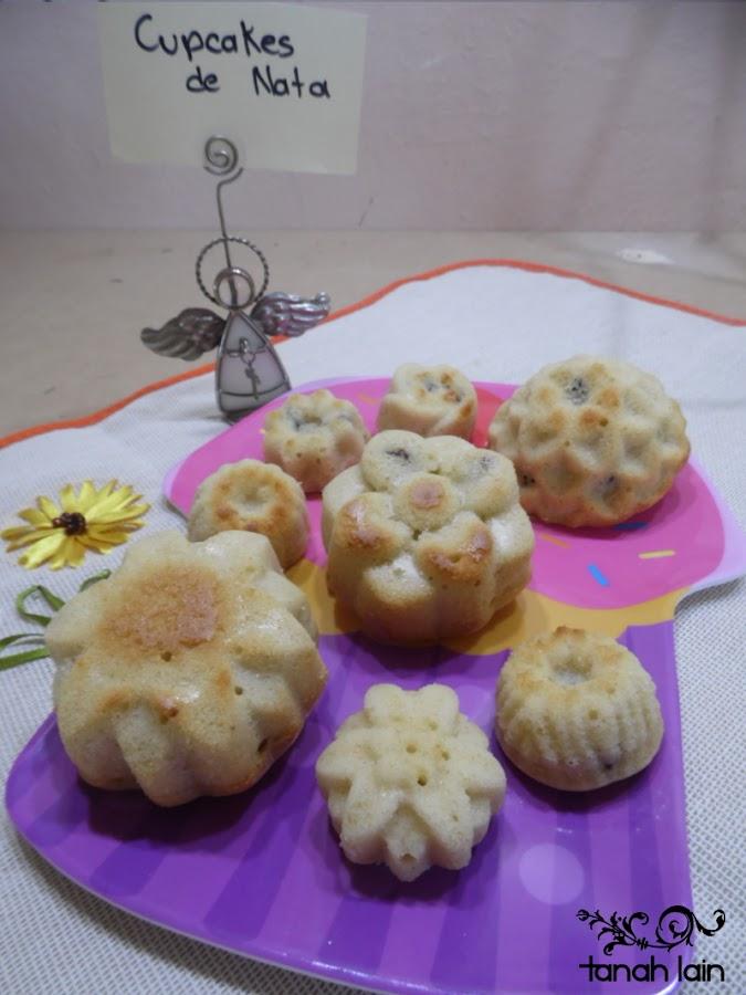 Receta de Cupcakes de Nata (crema de leche)