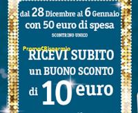 Logo Famila ti regala buoni sconto da 10€ cumulabili