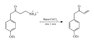 Hofmann-elimination-microwave-assisted-reaction