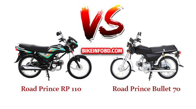 Road Prince RP 110 Vs. Road Prince Bullet 70 Comparison