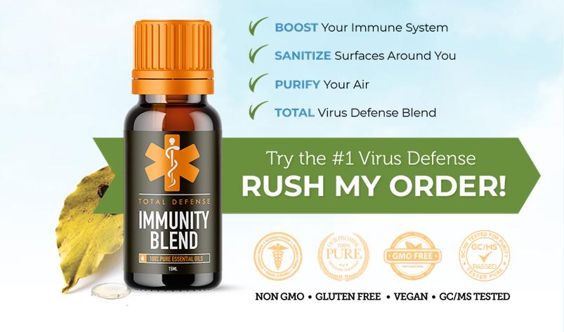 Total Defense Immunity Oil - Corona Virus
