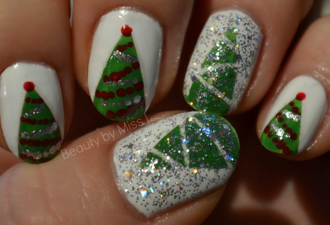 christmas themed nails, jõululikud küüned, christmas mani