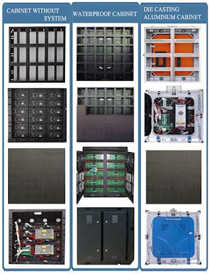 Cung cấp màn hình led p2 cabinet ngoài trời tại quận 2