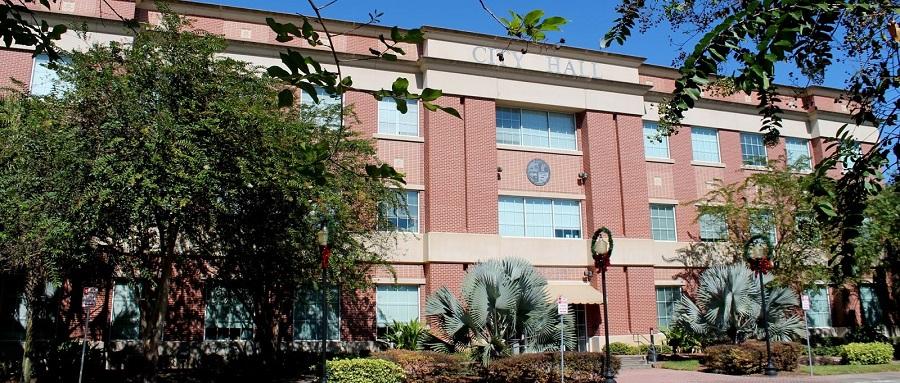 City Hall o ayuntamiento de Plant City