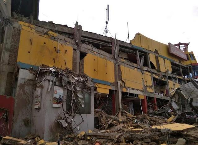 động đất, sóng thần khủng khiếp ở Indonesia