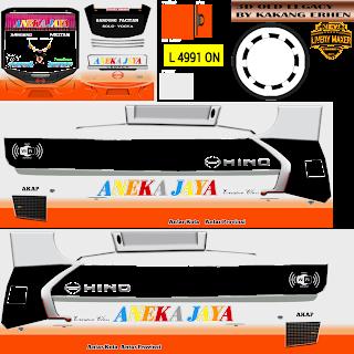 Livery Bus Simulator Indonesia Jernih PNG Bagian V8
