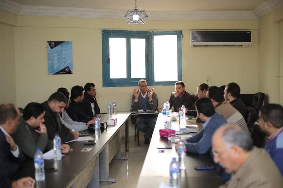 نتائج  الاجتماع الأول للجنة إعلام  مستقبل وطن بمحافظه البحيرة