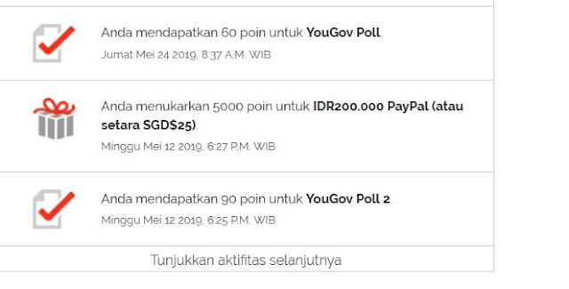 Hoax Bayaran $25 Dari Survey Online YouGov