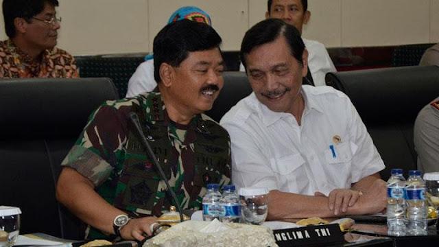 Panglima TNI, Natuna, dan Patroli Pak Luhut