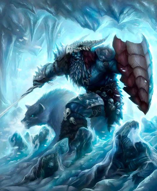 Aventura de Navidad para Dungeons & Dragons - La Frontera del Invierno (4ª Parte) - Gigante de Escarcha