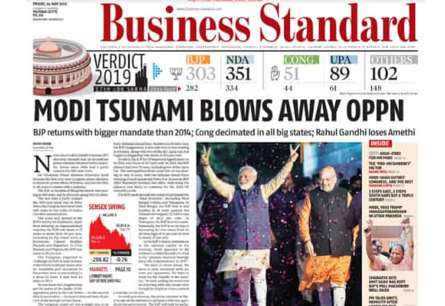 Best Business Newspapers In India 2019  Business Standard WealthyEra