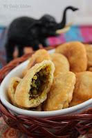 Качори с агнешко месо и боб Мунг