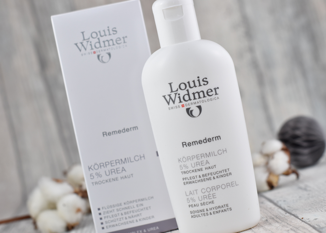 Beauty News beautypress News Box Dezember 2019 - Louis Widmer - Remederm Körpermilch Urea