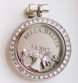 Personalized Plates for your Origami Owl Living Lockets available at StoriedCharms.com