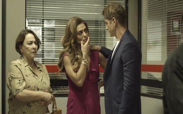 Régis dá apoio a Maria (Imagem: Reprodução/TV Globo)