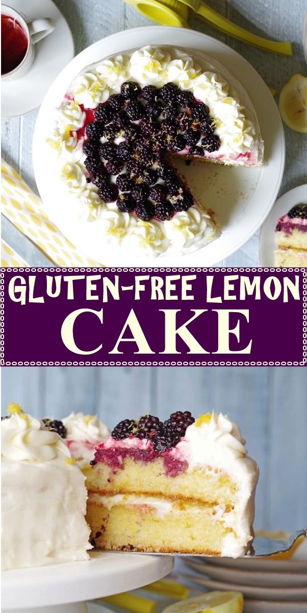 GLUTEN-FREE LEMON CAKE #cakerecipes