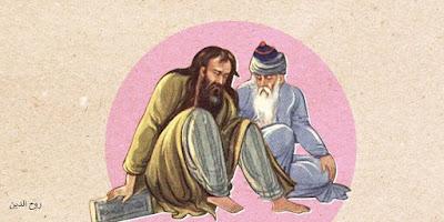علاقة جلال الدين الرومي بشمس التبريزي