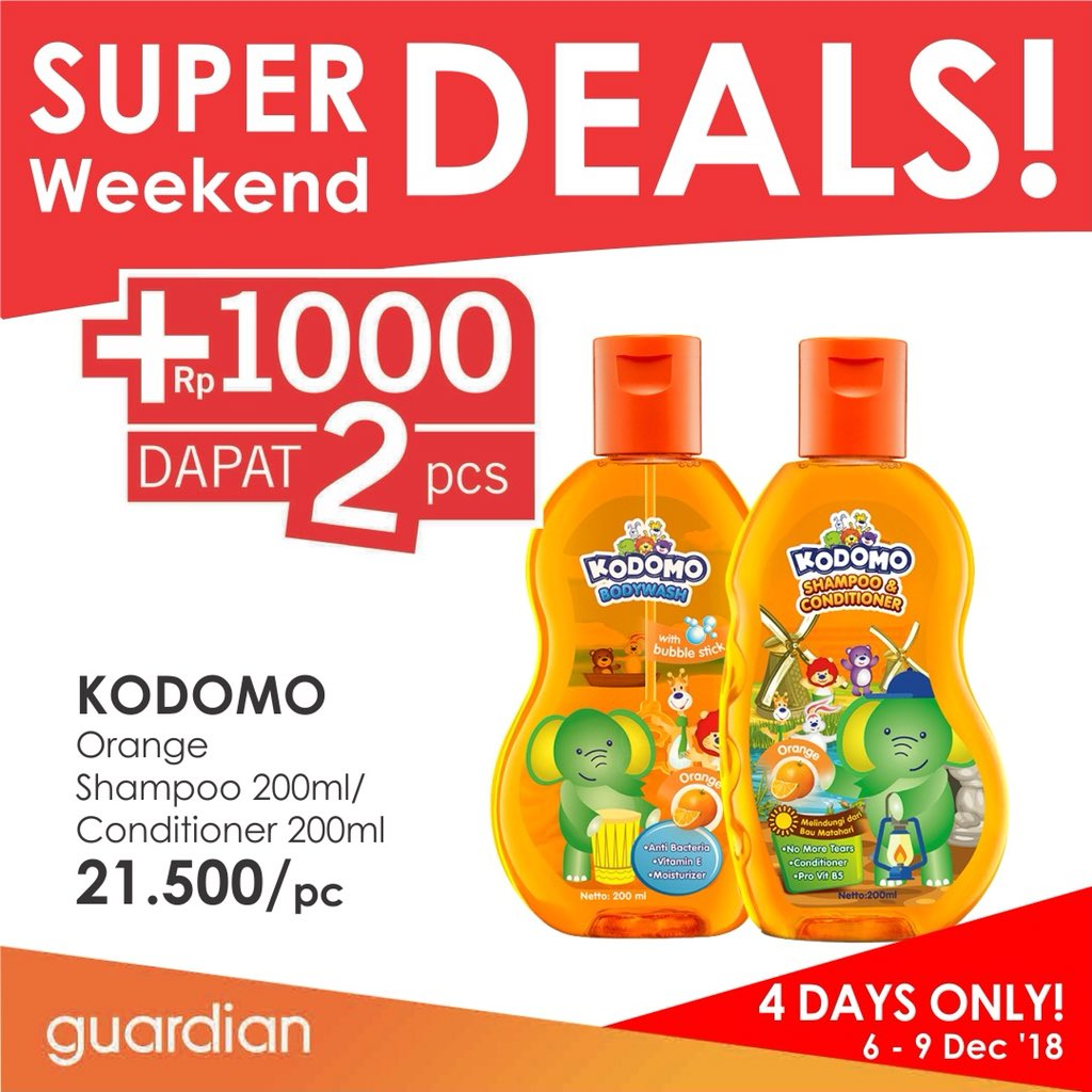 Guardian - Promo Super Deals Weekend Periode 06 - 09 Desember 2018
