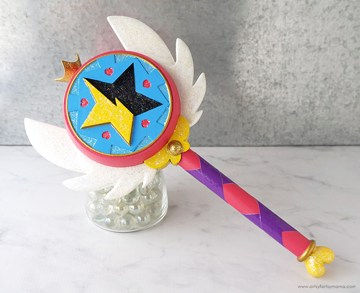 DIY Star Butterfly Wand