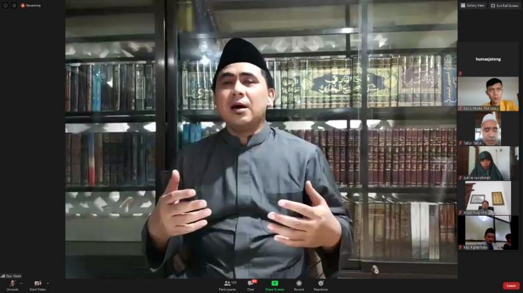 Silaturahmi Live Zoom dengan Gus Yasin, Muhammadiyah Siap Bantu Tangani Covid-19