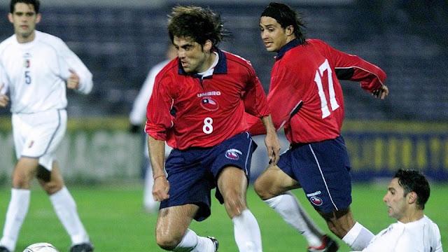 Chile y Venezuela en Clasificatorias a Corea/Japón 2002, 4 de septiembre de 2001