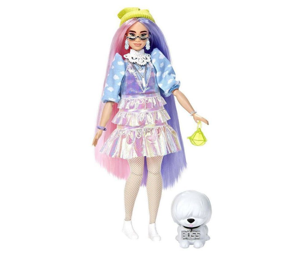 Barbie Fashionistas X.T.R.A. OMG Candy Queen Lea