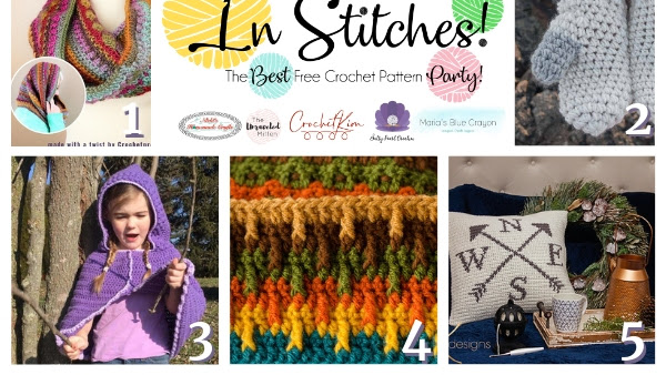 Best Free Crochet Patterns - In Stitches Link Up Party #28