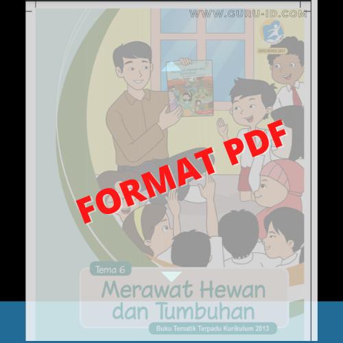 gambar buku kelas 2 tema 6 pdf