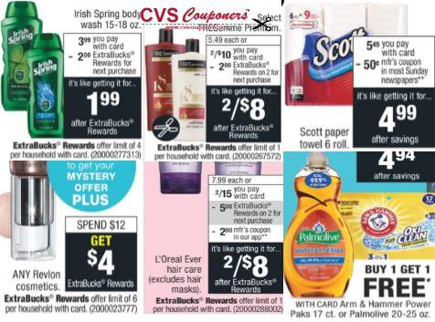 CVS Deal on Scott Paper Towels