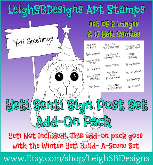 Yeti Senti Sign Post Add-On Pack