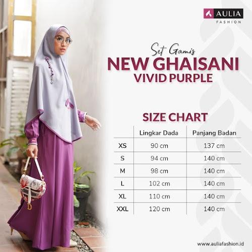 Set Gamis New Ghaisani Vivid Purple