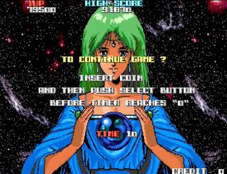 キャメルトライ ゲームオーバー画面