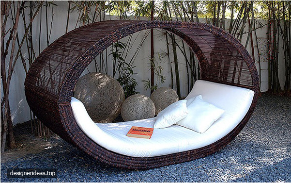11 Designs of Rattan Outdoor Daybed, Unique and Classic