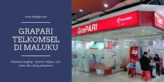 Daftar Lokasi GraPARI Telkomsel Di Maluku Dan Sekitarnya