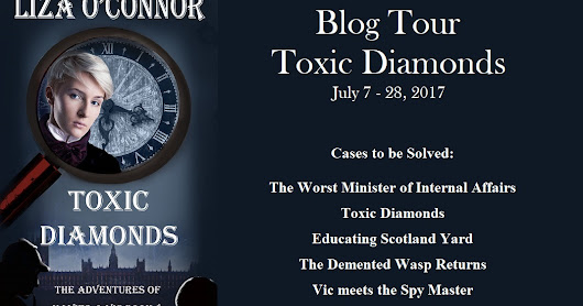 Toxic Diamonds by Liza O'Connor Blog Tour @Liza0Connor