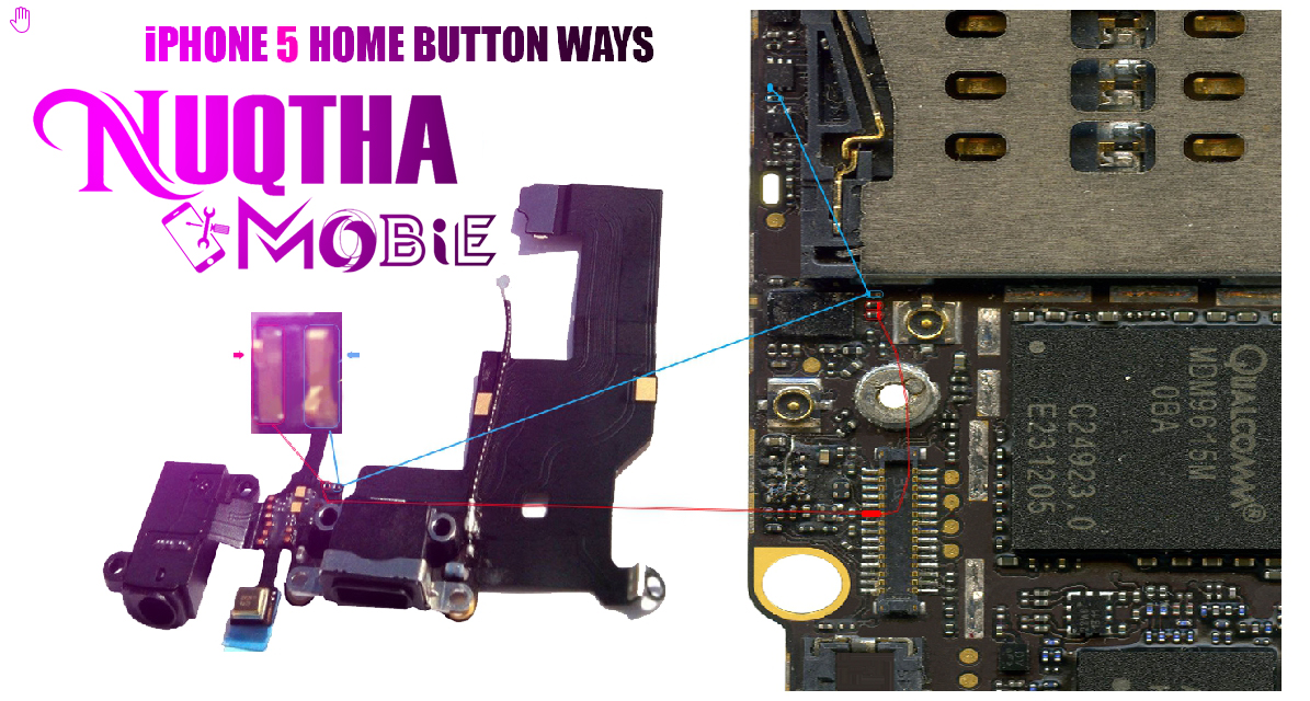 Nuqthaa Mobile Iphone 5g Home Button Ways