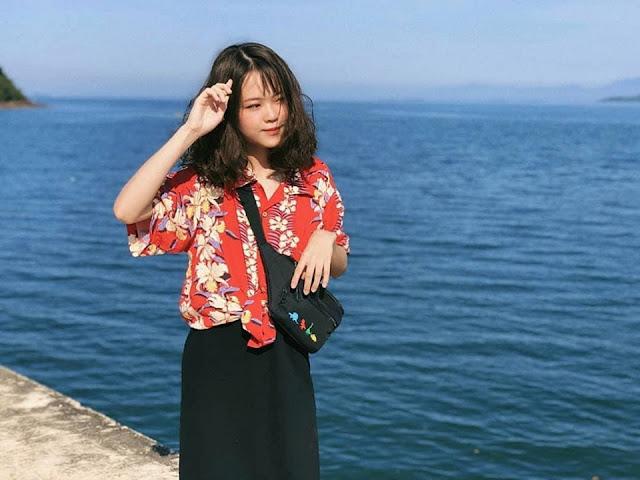 Đảo Cái Chiên Quảng Ninh đẹp bình yên qua ảnh check-in của giới trẻ 6