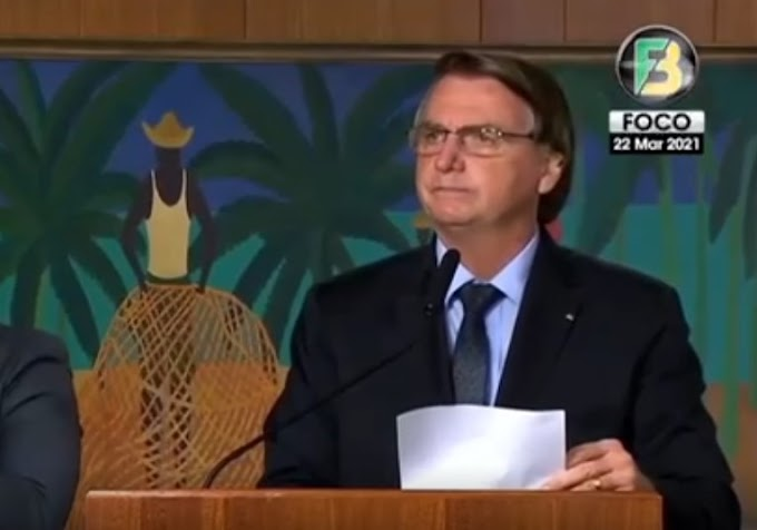 Vídeo: 'Combatam o vírus e não o presidente', diz Bolsonaro ao falar sobre lockdown
