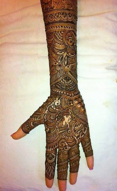 Bridal Mehandi Design 5