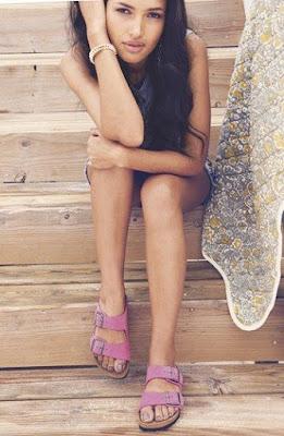 Como usar sandálias Flats