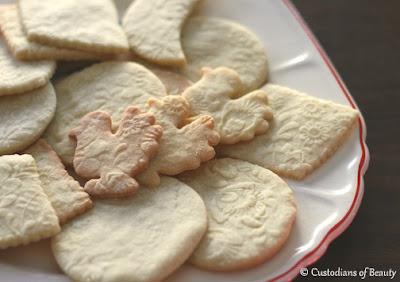 Shortbread Cookies | Recipe| by CustodiansofBeauty.blogspot.com