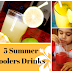 5 Summer Coolers Drinks  With Less Than 5 natural Ingredients